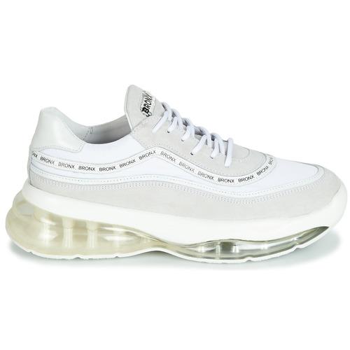 Bronx Bubbly Bianco - Consegna Gratuita- Scarpe Sneakers Basse Donna 11900