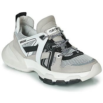 Scarpe Donna Sneakers basse Bronx SEVENTY STREET Grigio / Bianco / Nero