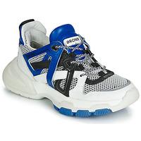 Scarpe Donna Sneakers basse Bronx SEVENTY STREET Bianco / Nero / Blu