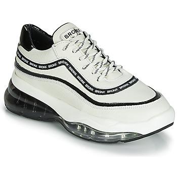 Scarpe Donna Sneakers basse Bronx BUBBLY Bianco / Nero
