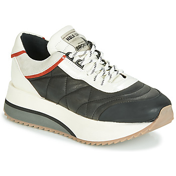 Scarpe Donna Sneakers basse Bronx NOLA ISA Nero / Grigio