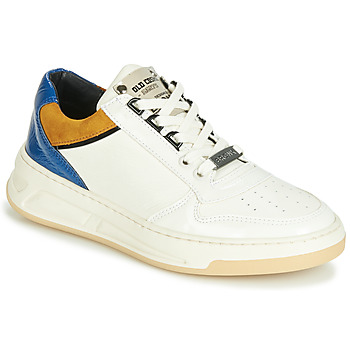 Scarpe Donna Sneakers basse Bronx OLD COSMO Bianco / Ocre / Blu