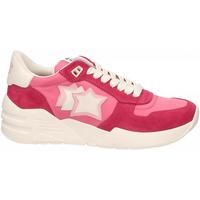 Scarpe Donna Sneakers basse Atlantic Stars VENUS rosso-rosa