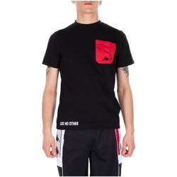 Abbigliamento Uomo T-shirt maniche corte Kappa AUTHENTIC BAIAS 902-black-red-white