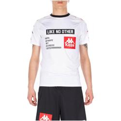 Abbigliamento Uomo T-shirt maniche corte Kappa AUTHENTIC BASTIL 912-white