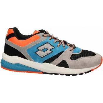 Scarpe Uomo Sneakers basse Lotto MARATHON BLOCK 1yd-gray--black-blue