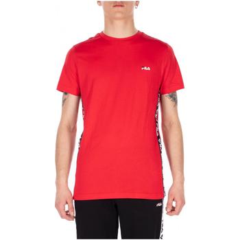 Abbigliamento Uomo T-shirt maniche corte Fila TALAN TEE SS m67-bright-white