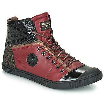Scarpe Donna Sneakers alte Pataugas BANJOU Bordeaux