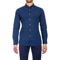 Abbigliamento Uomo Camicie maniche lunghe Barbour BACAM3132 MSH IN32 Blu