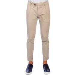 Abbigliamento Uomo Pantaloni 5 tasche Michael Coal FREDERICK 2558 BEI C Pantalone Uomo Uomo Beige Beige