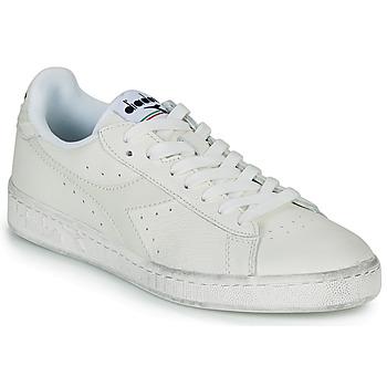 Scarpe Sneakers basse Diadora GAME L LOW WAXED Bianco