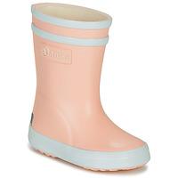 Scarpe Bambina Stivali da pioggia Aigle BABY FLAC Rosa