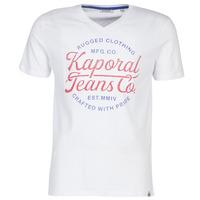 Abbigliamento Uomo T-shirt maniche corte Kaporal OBUCE Bianco