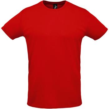 Abbigliamento Uomo T-shirt maniche corte Sols SPRINT SPORTS Rojo