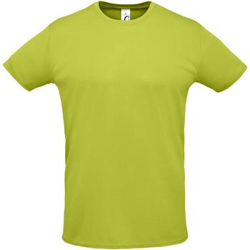 Abbigliamento Uomo T-shirt maniche corte Sols SPRINT SPORTS Verde