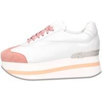 Scarpe Donna Sneakers basse Mg Magica D19181 BIANCO/ROSA Bianco/rosa
