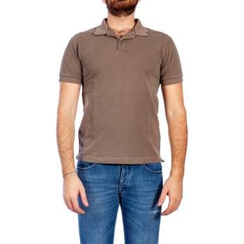 Abbigliamento Uomo Polo maniche corte Sun68 A19103 52 MUD Polo Uomo Uomo Tortora Tortora