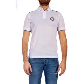 Abbigliamento Uomo Polo maniche corte Sun68 A19115 01 B.CO Polo Uomo Uomo Bianco Bianco