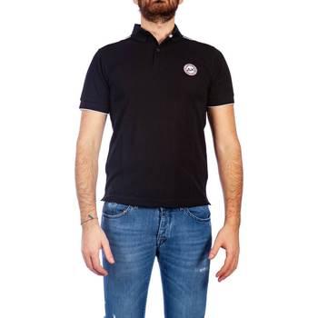 Abbigliamento Uomo Polo maniche corte Sun68 A19115 11 NERO Polo Uomo Uomo Nero Nero