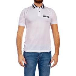 Abbigliamento Uomo Polo maniche corte Sun68 A19112 01 B.CO Polo Uomo Uomo Bianco Bianco