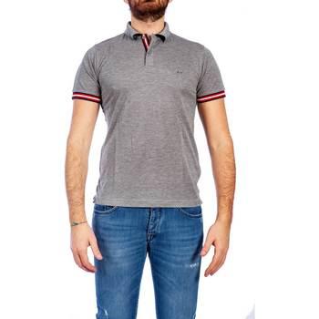 Abbigliamento Uomo Polo maniche corte Sun68 A19111 34 GRI Polo Uomo Uomo Grigio Grigio