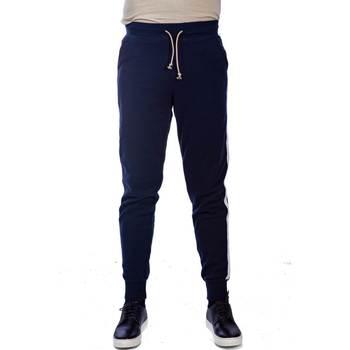 Abbigliamento Uomo Pantaloni 5 tasche Sun68 F19128 07 NAVY Pantalone Uomo Uomo Blu Blu