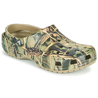 Scarpe Uomo Zoccoli Crocs CLASSIC REALTREE Kaki