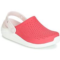 Scarpe Bambina Zoccoli Crocs LITERIDE CLOG K Rosso / Bianco
