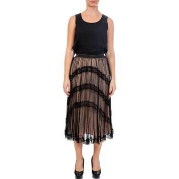 Abbigliamento Donna Tuta Twin Set TA72G1-06 Gonna Donna Nero Nero