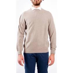Abbigliamento Uomo Maglioni La Fileria 58190/20635 020 E Maglia Uomo Uomo Beige Beige