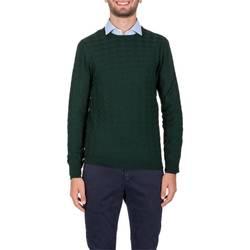 Abbigliamento Uomo Maglioni La Fileria 58144/14234/464 VERD Maglia Uomo Uomo Verde Verde