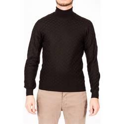 Abbigliamento Uomo Maglioni La Fileria 58135/14235 099 NER Maglia Uomo Uomo Nero Nero