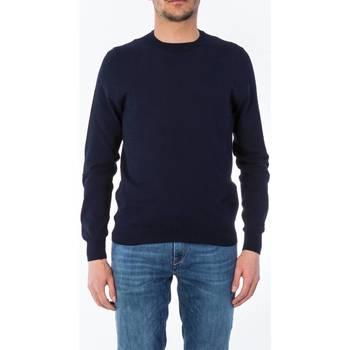 Abbigliamento Uomo Maglioni La Fileria 57129/20617/598 BLU Maglia Uomo Uomo Blu Scuro Blu Scuro