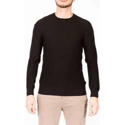 Abbigliamento Uomo T-shirts a maniche lunghe La Fileria 57121/14225 099 Maglia Uomo Uomo Nero Nero