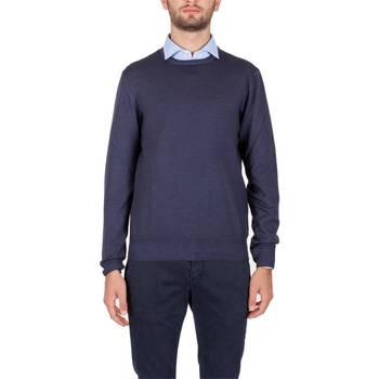 Abbigliamento Uomo Maglioni La Fileria 55167/22792/905 BL Maglia Uomo Uomo Blu Lavato Blu Lavato