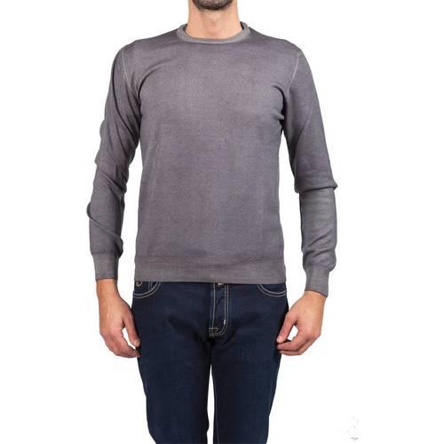 La Fileria 5516782792 011 GRI grau - Abbigliamento Maglioni herren 90,30