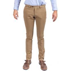 Abbigliamento Uomo Chino Berwich SC XGAB DESERT Pantalone Uomo Uomo Beige Scuro Beige Scuro