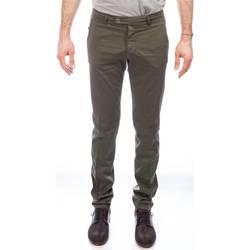 Abbigliamento Uomo Pantaloni 5 tasche Berwich SC SLIM MX001X ARMY Verdone