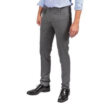 Abbigliamento Uomo Pantaloni 5 tasche Berwich SC PATCH/RD1054 GRI Grigio