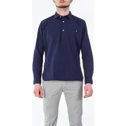 Abbigliamento Uomo Polo maniche lunghe Tintoria Mattei TXH/TYB/FU3 REG Camicia Uomo Uomo Fantasia Fantasia