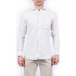 Abbigliamento Uomo Camicie maniche lunghe Tintoria Mattei TM6TXI/FQ1 REG Fantasia