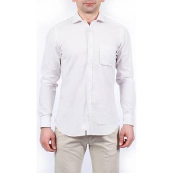 Abbigliamento Uomo Camicie maniche lunghe Tintoria Mattei TM6TXI/FQ1 REG Camicia Uomo Uomo Fantasia Fantasia