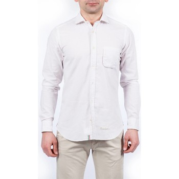 Abbigliamento Uomo Camicie maniche lunghe Tintoria Mattei TM6NXI/FQ1 Fantasia