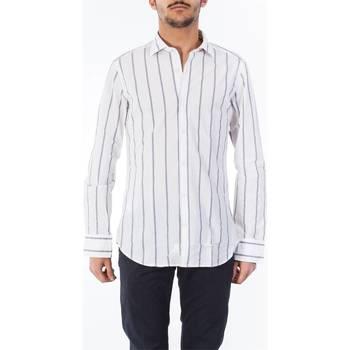 Abbigliamento Uomo Camicie maniche lunghe Tintoria Mattei T5S/NJW/RE1 Camicia Uomo Uomo Fantasia Fantasia