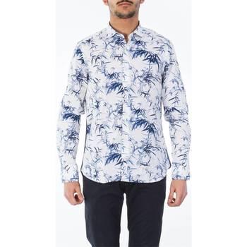 Abbigliamento Uomo Camicie maniche lunghe Tintoria Mattei T4Q/N0B/FD1 Camicia Uomo Uomo Fantasia Fantasia