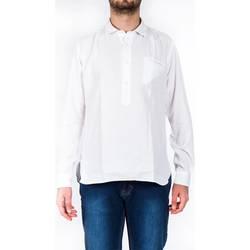 Abbigliamento Uomo Camicie maniche lunghe Tintoria Mattei 1T6PN0EAA1 Bianco