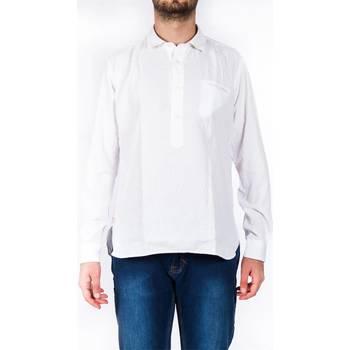 Abbigliamento Uomo Camicie maniche lunghe Tintoria Mattei 1T6PN0EAA1 Camicia Uomo Uomo Bianco Bianco