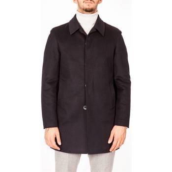 Abbigliamento Uomo Cappotti Julian Keen J1115B/T7528 50 BLU Cappotto Uomo Uomo Blu Blu