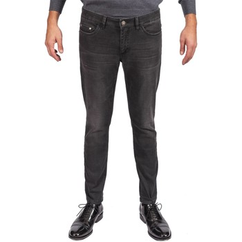 Abbigliamento Uomo Jeans dritti Alessandro Dell'acqua AD7722/5080 80J Nero