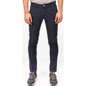 Abbigliamento Uomo Pantaloni 5 tasche Alessandro Dell'acqua AD7701WA/P0000ELT Blu